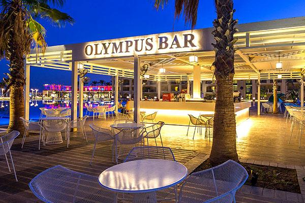 Olympus Bar Title